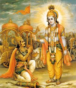 La Baghavad Gita Il Segreto del Combattere la Battaglia della Vita Krishna a Arjuna