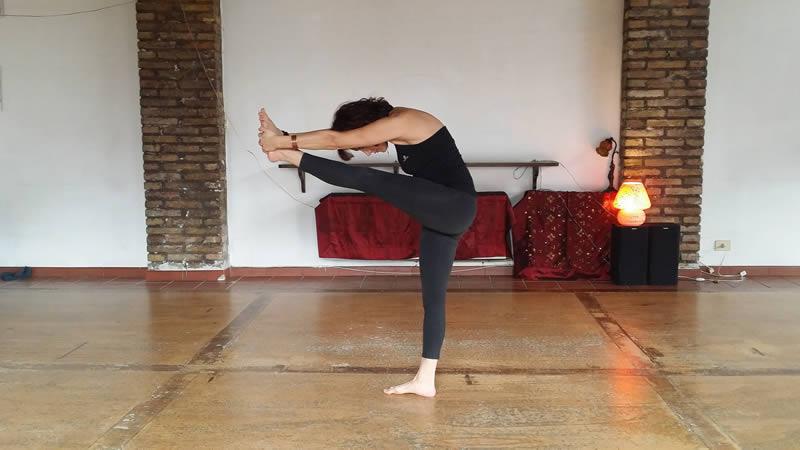 Dandayamana Silvia Mileto Spanda Yoga Roma