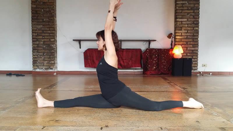 Hanumanasana Silvia Mileto Spanda Yoga Roma