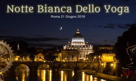 Notte Bianca dello Yoga Roma