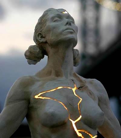 Kinstuki Arte della Riparazione in Oro Cicatrice