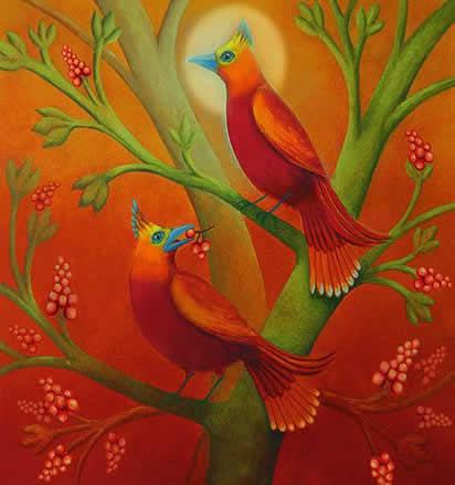 Le Upanishad Shiva e Shakti Due Uccelli