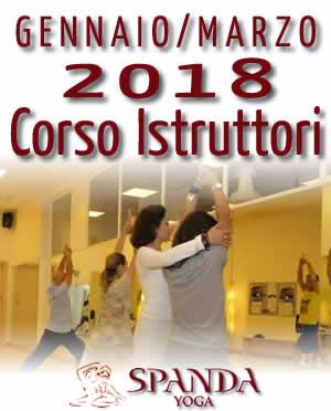 Corso di Formazione Istruttori Spanda Yoga Roma 2018