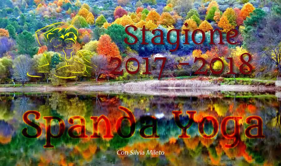 Stagione Yoga 2017 2018 con Silvia Mileto